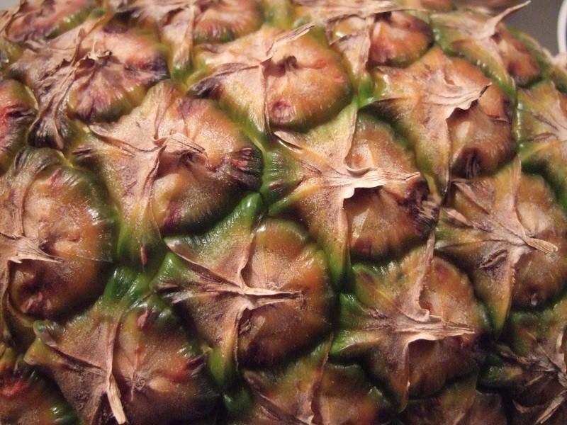 каким должен быть спелый ананас