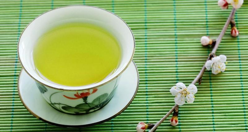 Зеленый жасминовый чай с лимоном