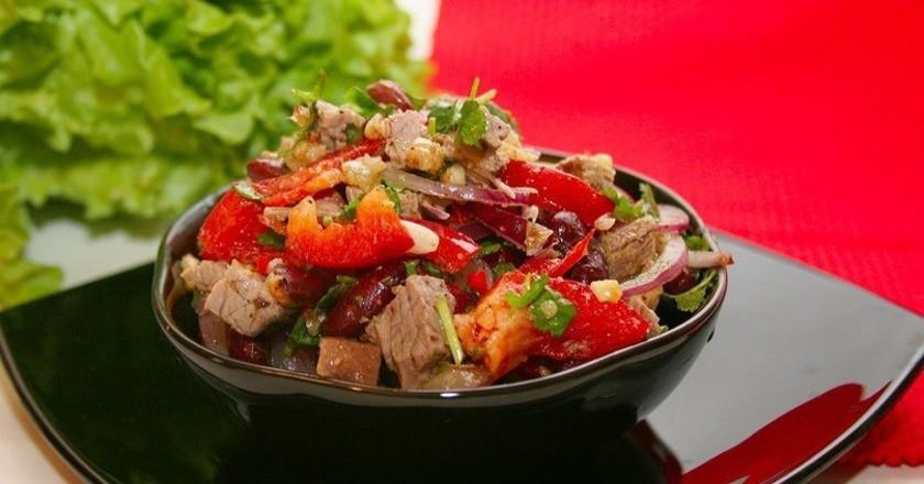 салат с болгарским перцем