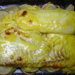 Треска в маринаде горчичном