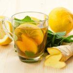 Напитки для похудения с имбирем