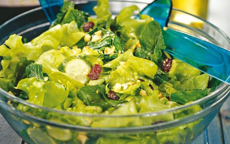 салат с латуком